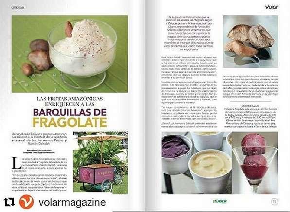 Fragolate reportaje en Volar Magazine