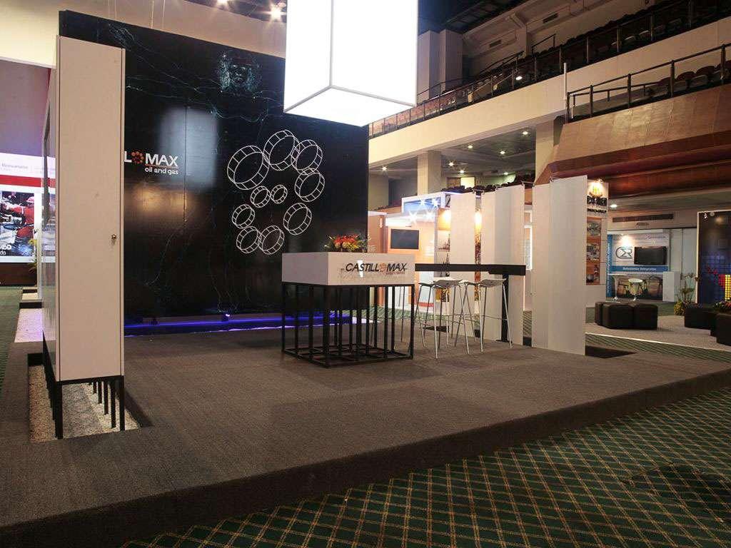 Castillomax. Stand en LAPS 2015. Proyecto para Grupo BG de Eventos