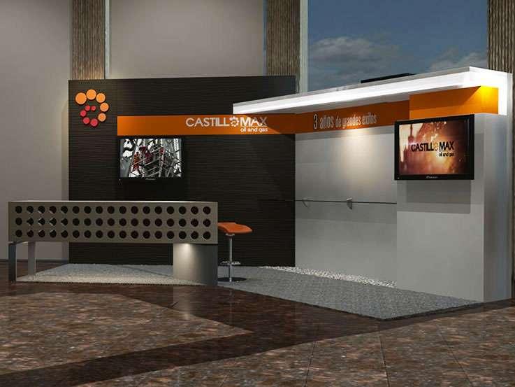 Castillomax · Emprendedores 2.0. Proyecto para Grupo BG de Eventos. Stands para Exposiciones