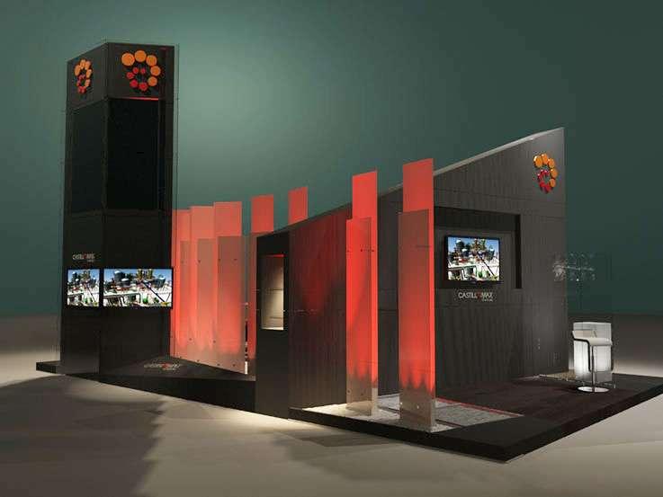 Castillomax · LAPS 2014. Proyecto para Grupo BG de Eventos. Stands para Exposiciones