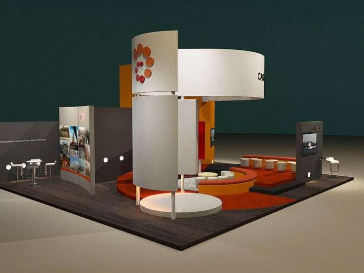 Castillomax · World Petroleum Congress 2015. Proyecto para Grupo BG de Eventos. Stands para exposiciones