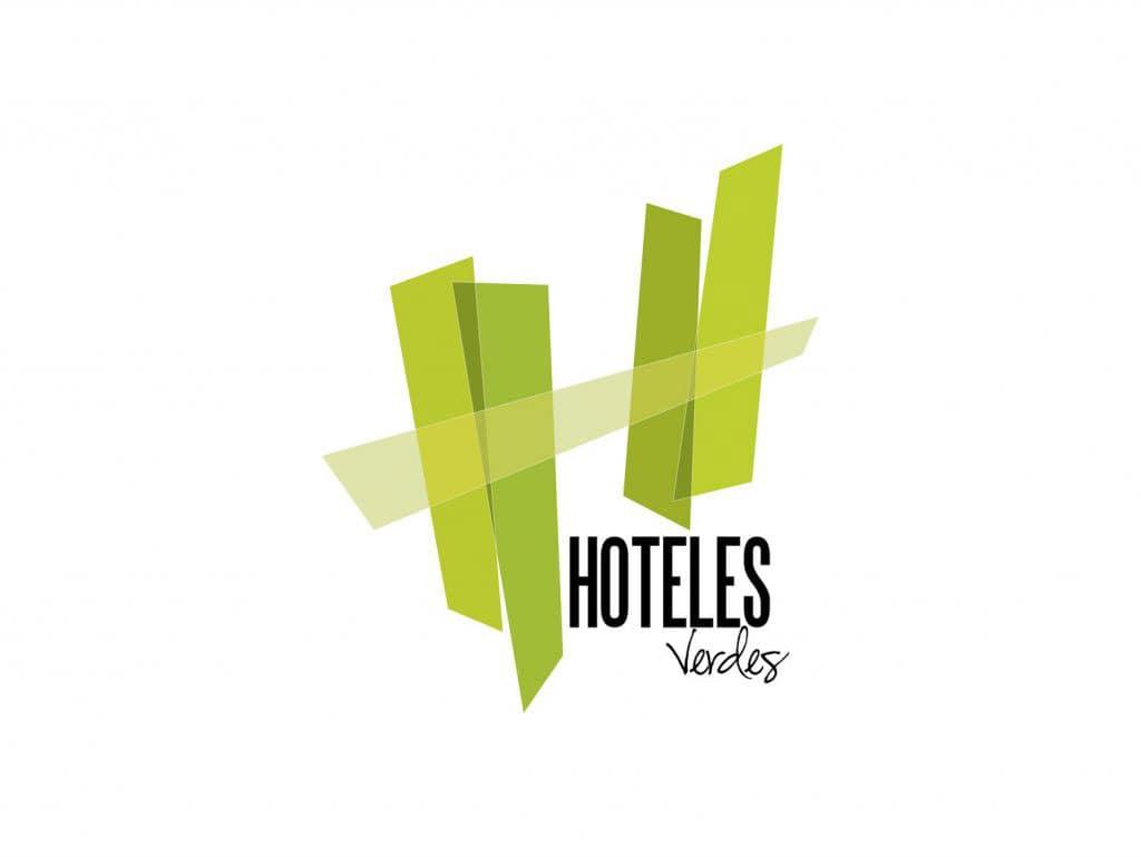 Hoteles Verdes. Logo