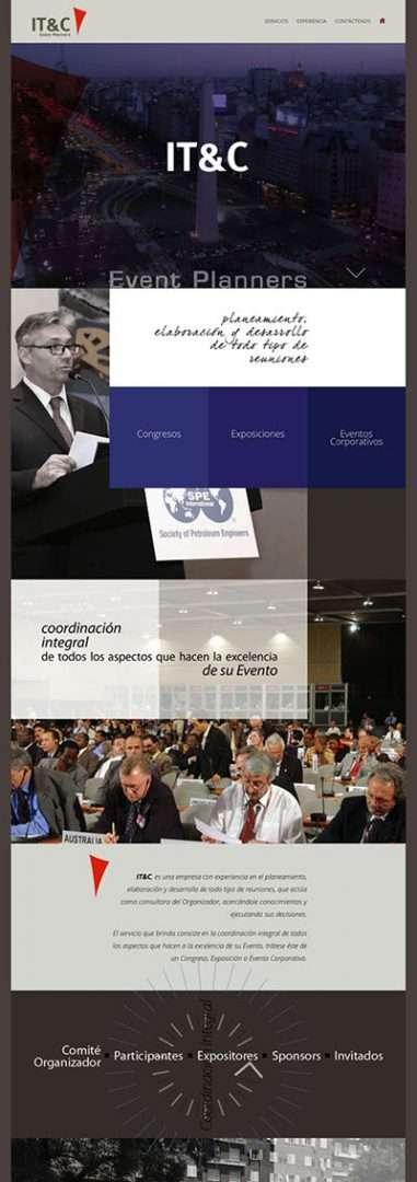 ITC. Páginas Web