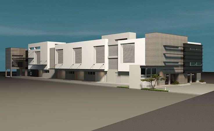 Cerro Negro. Edificio Comercial y Oficinas en 3D