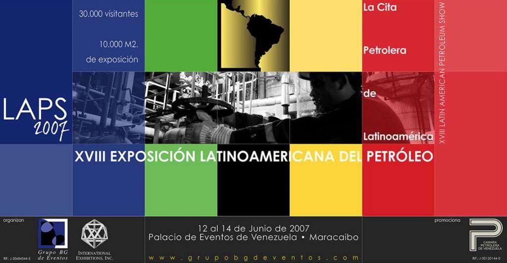 LAPS 2007. Valla Promocional. Proyecto para Grupo BG de Eventos