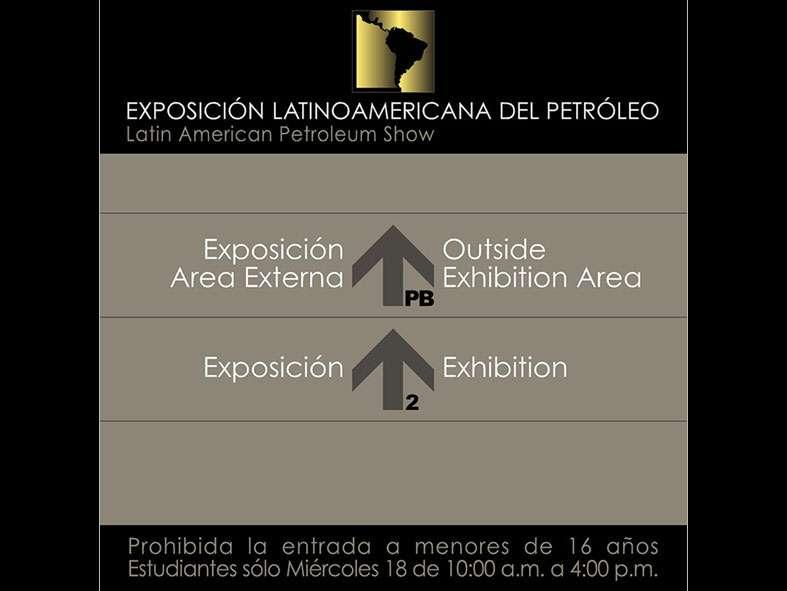 LAPS 2008. Señalización. Proyecto para Grupo BG de Eventos