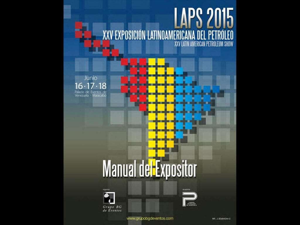 LAPS 2015 Portada Manual del Expositor