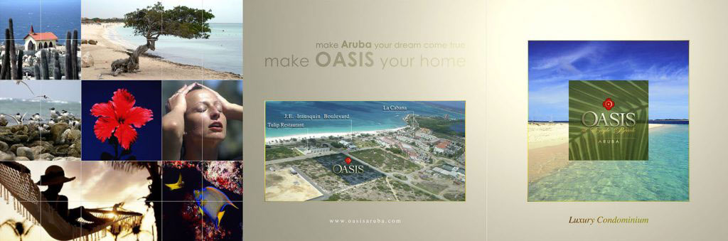 Oasis - Tríptico Promocional