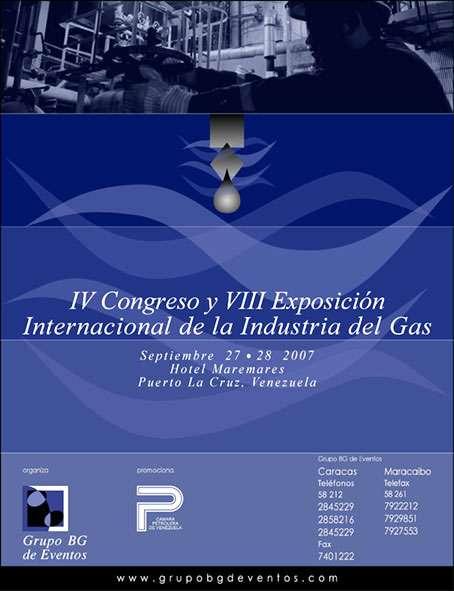 Expogas 2007. Aviso Promocional para Petróleo YV